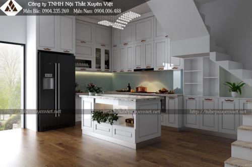 Thi công Tủ bếp, Lavabo,gầm cầu thang - Hải Phòng