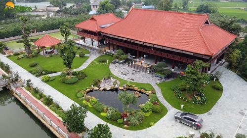 Thi Công Vườn Nhà Sàn - TP Thái Nguyên