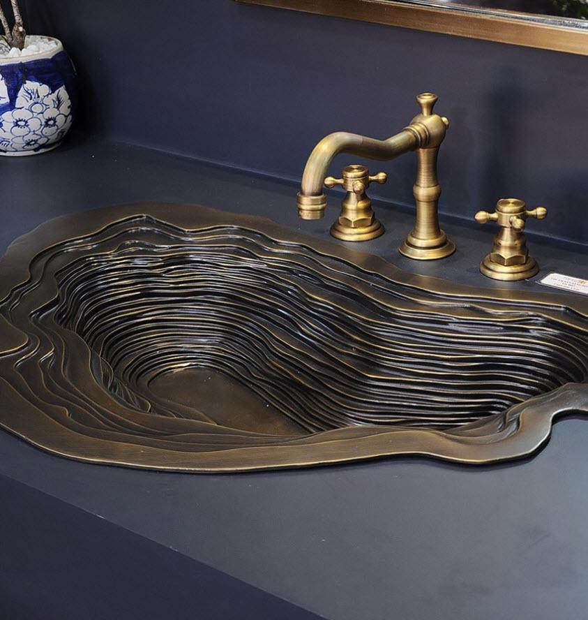 lavabo đồng - Dyad Furniture