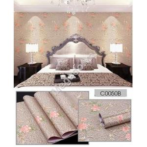 Giấy dán tường hoa nâu C0050B