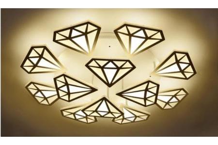 Đèn led kim cương ốp trần LED 013
