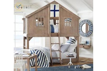 Giường tầng ngôi nhà cho bé