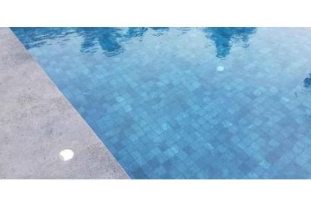 Đá Dark Crystallized Bluestone for pool