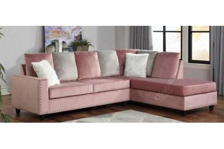 Sofa góc vải nhung cao cấp SG187