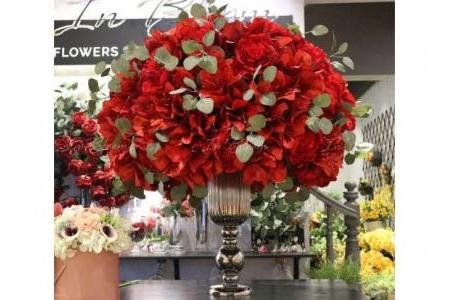 Bình hoa Hồng đại sảnh