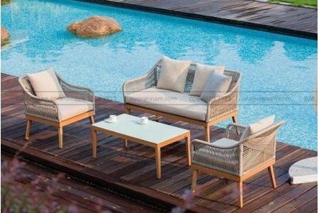 Bộ Sofa Ngoài Trời