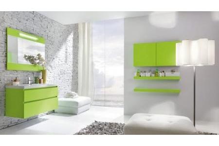 Tủ chậu lavabo phủ Acrylic Queenbee QB03