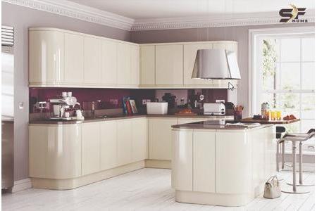 Tủ bếp fiberglass phòng bếp MS 47
