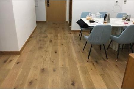 Sàn gỗ Sồi Engineered Ekogreen E6803 Oak Smouldered Rustic