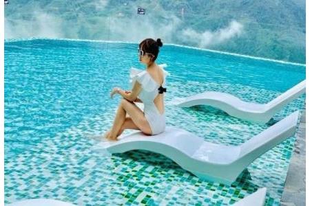 Ghế bể bơi, công viên...