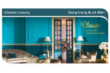 Màu sơn Classic Luxury - Sang trọng & cổ điển