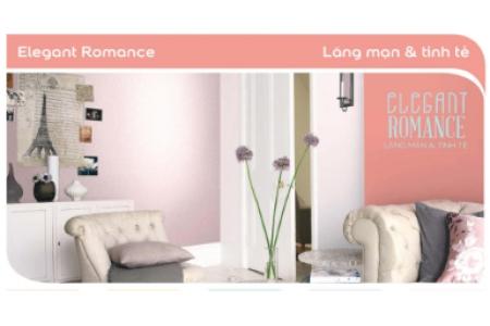 Màu sơn Elegant Romance - Lãng mạn & tinh tế