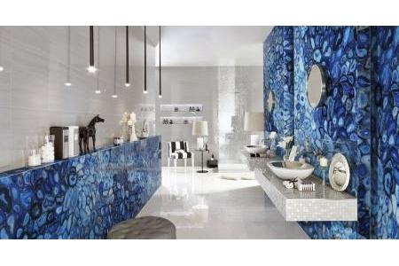 Đá Agate xuyên sáng – màu xanh dương