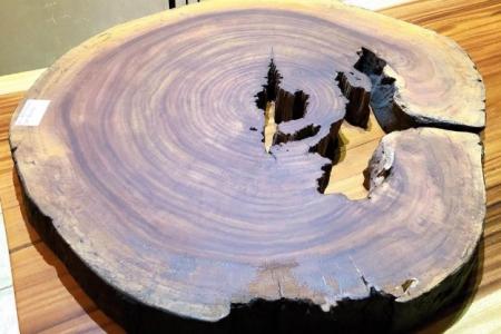 Mặt bàn gỗ lim sẹc