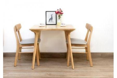 Bộ bàn 2 ghế ăn Adam & Borneo (3sp)
