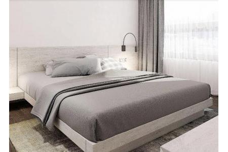 Giường Nhật Milan + 2 Tab – G11