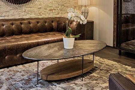 Bàn sofa ALEX COFFEE TABLE – BLACK MARBLE