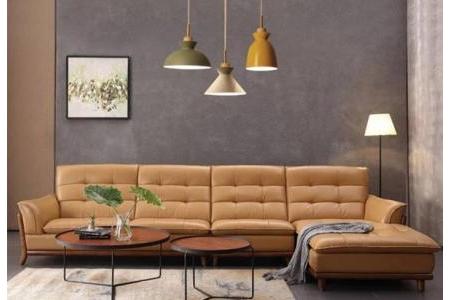 Sofa da Malaysia phòng khách S472