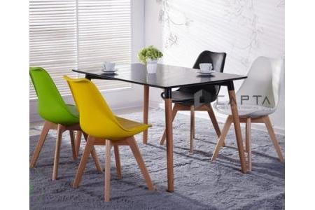 Bộ bàn phòng ăn 4 ghế  SD DAW12W / DAW-P