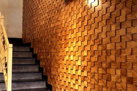 Gạch gỗ ốp tường Austin mosaic