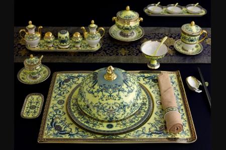 Bộ ăn cá nhân 29 sản phẩm phục vụ Nguyên Thủ APEC - Hoàng Cung - Hoàng Liên