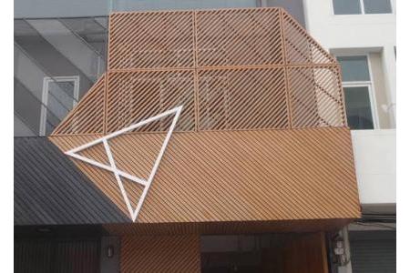 Sản phẩm Hệ lam chắn nắng Maxiswood Thái Lan
