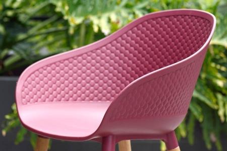 Ghế ngoài trời 100% làm từ nhựa tái chế DURALAND