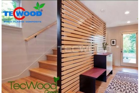 Vách ngăn gỗ nhựa Composite Tecwood