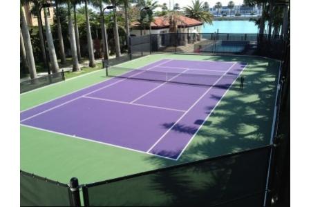 Sàn an toàn - Sân tennis