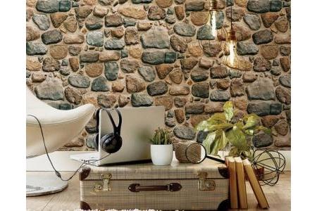 Giấy dán tường giả đá HE34-3