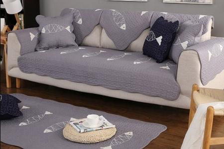 Thảm sofa cá xám 5 con