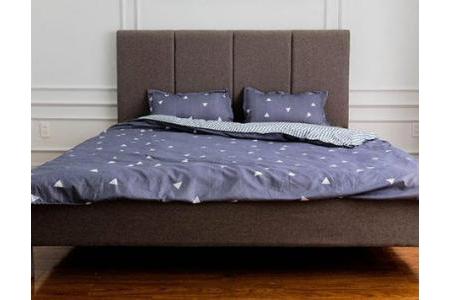 Giường ngủ Karla Xám