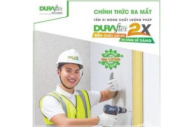 RA MẮT TẤM XI MĂNG SỢI CHẤT LƯỢNG PHÁP DURAflex 2