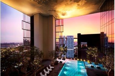 """Oasia Hotel Downtown Singapore: """"Tòa tháp sống"""" phủ đầy cây và hoa"""