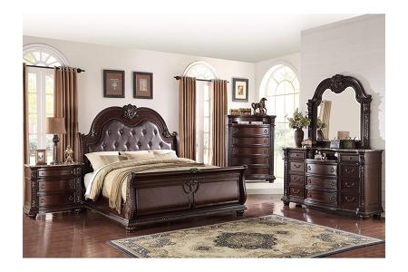 SET PHÒNG NGỦ STANLEY CHERRY KING BEDROOM IBSNBO