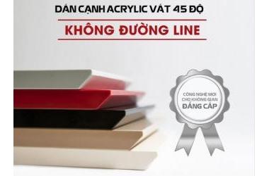 DÁN CẠNH ACRYLIC VÁT 45 ĐỘ KHÔNG ĐƯỜNG LINE