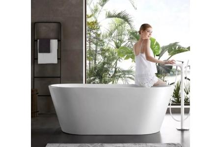 Lavabo Terrazzo trắng cho các khu resort