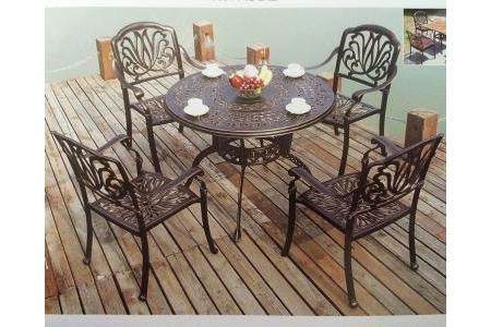 Bộ bàn 4 ghế ngoài trời Hanghong - A6014