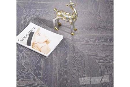 Sàn gỗ xương cá - Oak 1056