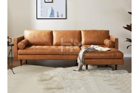 Sofa Góc Da HM-SG112