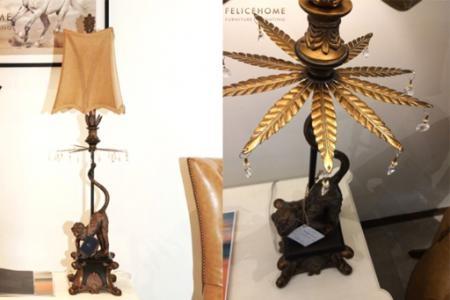 Đèn trang trí Monkey Lamp