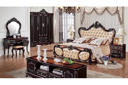 Giường ngủ cổ điển sang trong G146