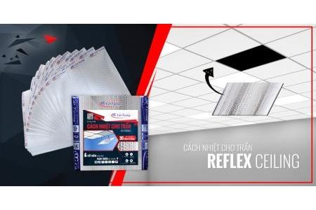 Tấm cách nhiệt cho trần Reflex Ceiling