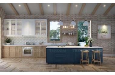 Đa dạng không gian bếp cùng Plywood