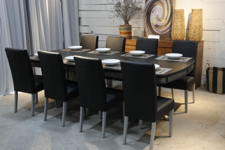 BÀN ĂN DINING TABLE EXTENSION (Black)