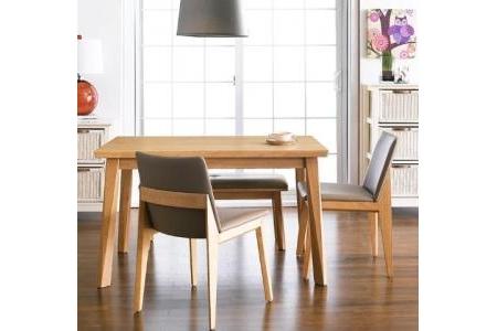 Bộ bàn ăn ZODAX Bench Set - Beech