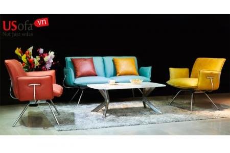Sofa băng PVC cao cấp (3-1-1)- SB536