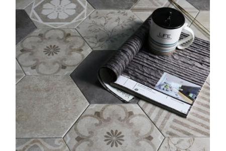 Gạch Decorative Hexagon Tile PZM902FD-F