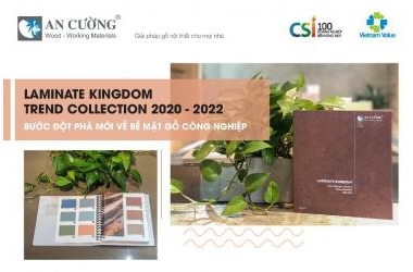 LAMINATE KINGDOM TREND COLLECTION 2020 - 2022 - AN CƯỜNG