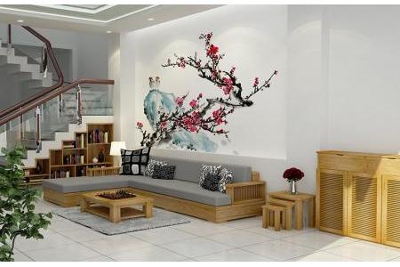 Sofa nệm gỗ